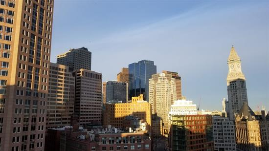 Boston skyline - daytime