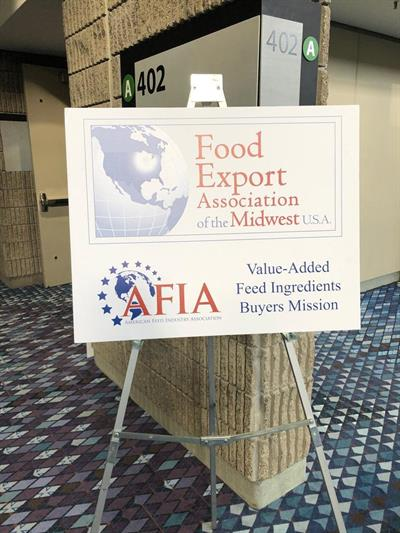IPPE Food Export Sign