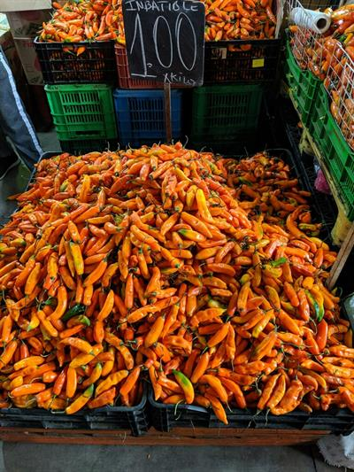 Peru - Wholesale Market Tour 1