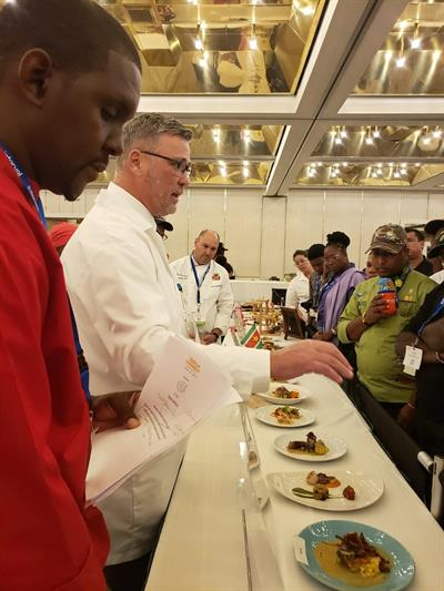Taste of Caribbean - Judging Dishes 2