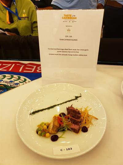 Taste of the Caribbean - Chef of the Year_Cayman_Culinary Creation