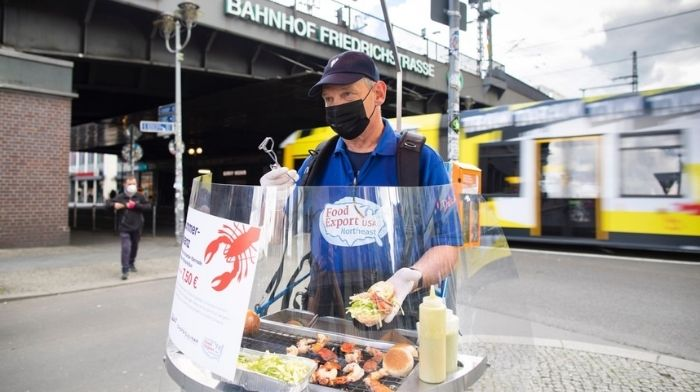 Berlin's Grillwalker Event Features Unique Way to Prepare American Lobster Tails