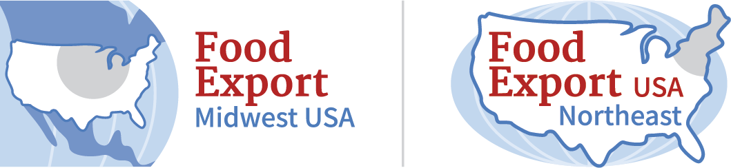 Food Export Midwest Northeast USA logo