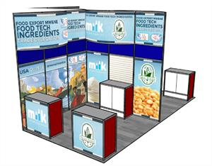 2019 Food Tech Summit Booth 1